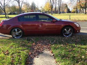 """20""""chrome rims w/black for Sale in CT, US"""