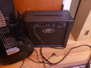 Guitar and amp with guitar bag for Sale in Frederick, MD