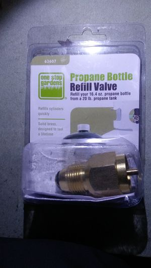 Propane bottle refill valve for Sale in Portland, OR