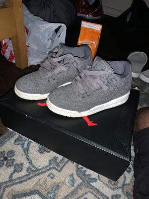 Jordan 3 Wool ( Size 4.5) for Sale in Tallahassee, FL