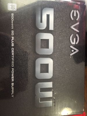 500 Watt EVGA Power Supply for Sale in Indianapolis, IN