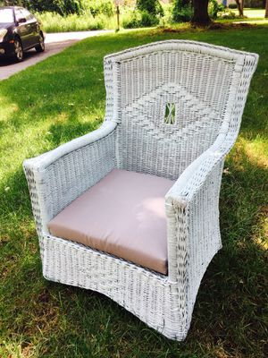 Wicker Chair for Sale in Sudbury, MA