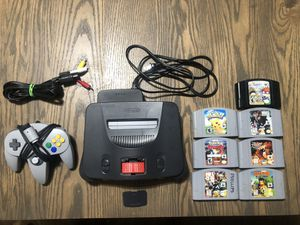 Nintendo 64 Console and Games for Sale in Upland, CA