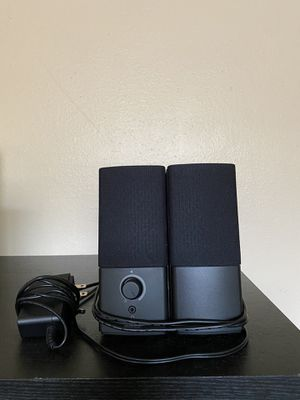Bose Companion 2 Series III Multimedia Speakers - for PC (with 3.5mm AUX & PC input) for Sale in Houston, TX