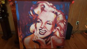 "Marilyn Monroe 40""×40"" Canvas Painting for Sale in Hartford, CT"
