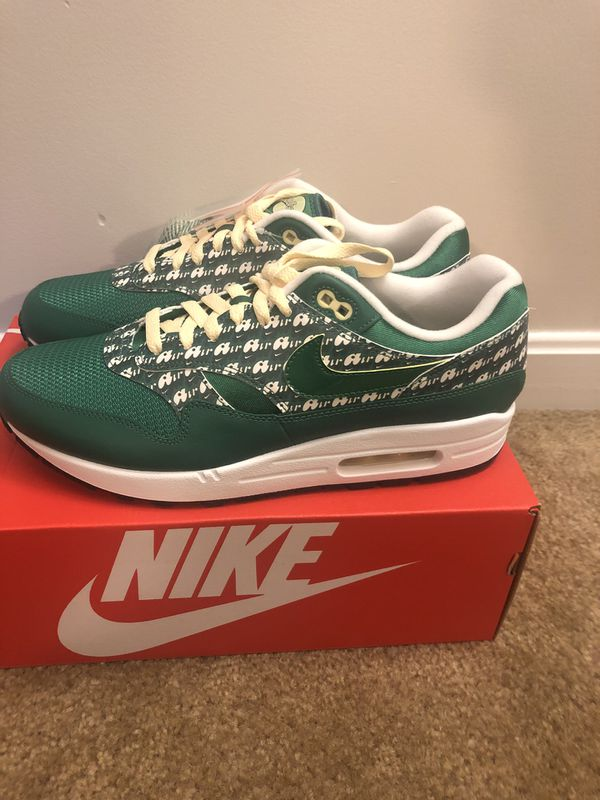 """Nike Air Max 1 """"Limeade"""" Size 11 DS"""