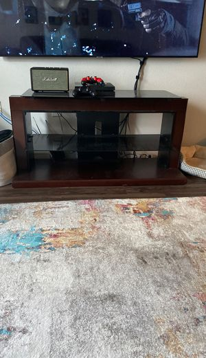 """Tv stand 51""""wide 25""""tall 17""""deep for Sale in San Antonio, TX"""