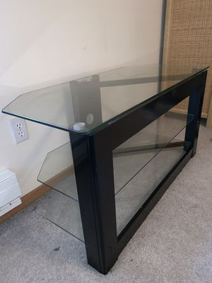 Glass Tv Stand for Sale in Seattle, WA