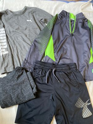Lot of athletic youth clothes size S (5-6) for Sale in Santa Clara, CA