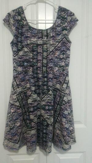 Blue print Short Dress for Sale in BETHEL, WA