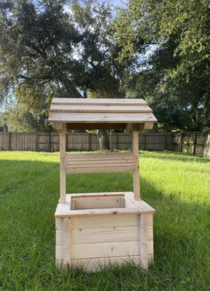 decorative well for garden for Sale in Jacksonville, FL