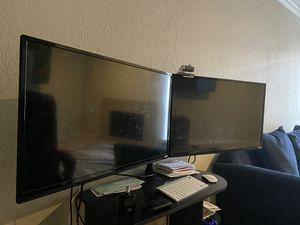 2 32 Inch TVs Vizio for Sale in Dallas, TX