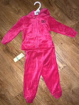 Juicy Outfit size 18 months - new! $10 for Sale in Beaumont, CA
