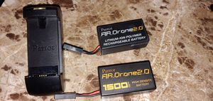 Parrot AR Drone batteries and charger for Sale in Seattle, WA