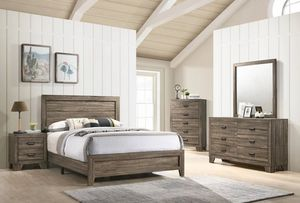 💦[HOT DEAL] Millie Brown Panel Bedroom Set (3-6 days delivery)💦 for Sale in Jessup, MD