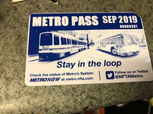 September monthly bus pass for Sale in Buffalo, NY