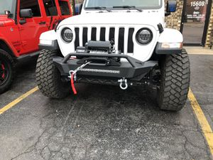 Jeep bumpers, winch, LED Headlight's for the 2018+ JL Jeep Wrangler for Sale in Orland Park, IL