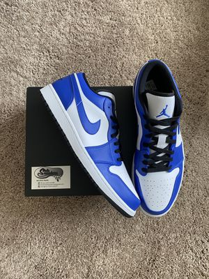 Jordan 1 low game royal for Sale in Kernersville, NC