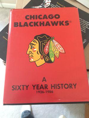 Blackhawks books - Golden Jet/Hawks 60yr/Stadium/Chelios for Sale in Aurora, IL