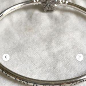 Pandora Bracelet, Pandora Bangle, Fireworks Bangle, Pandora Charm Bracelet, Sterling Silver for Sale in Waldorf, MD