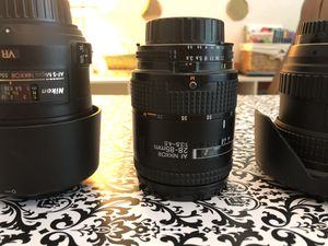 Nikon 28-85mm DSLR Camera Lens for Sale in Abilene, TX