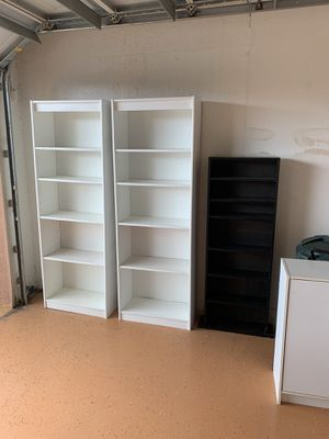 Storage shelves cabinets all of them for Sale in Sarasota, FL