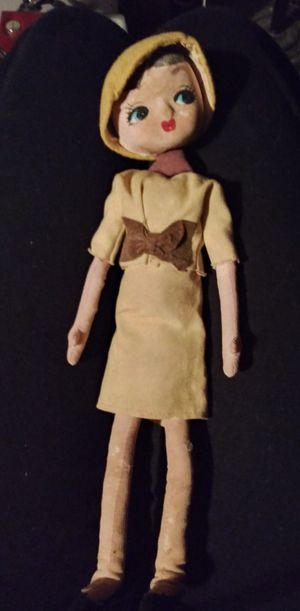 1960s Mid Century Big Eyed Bendable Doll Japan for Sale in St. Louis, MO