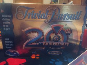 Trivial Pursuit board game...20th ANNIVERSARY EDITION;)!! for Sale in Parkersburg, WV