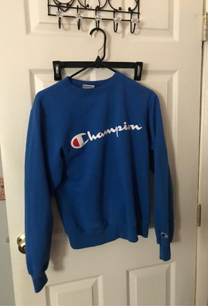 small blue champion sweater for Sale in Hemet, CA