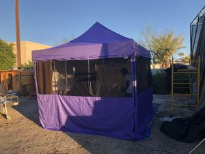 10x10 Food Service Tent. for Sale in Indian Wells, CA