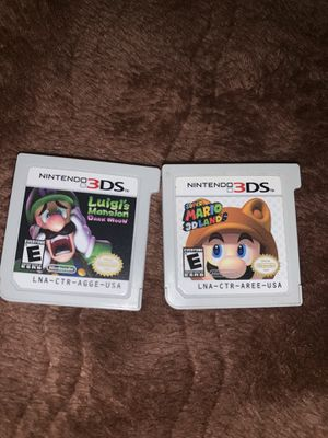 Mario 3D land and Luigi's haunted mansion for Sale in Lynwood, CA