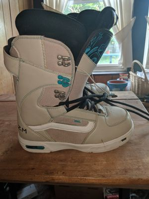 Vans snowboarding boots for Sale in Hermon, ME
