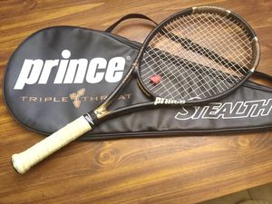 Prince Triple Threat Stealth Tennis Racket for Sale in Edgewood, TX