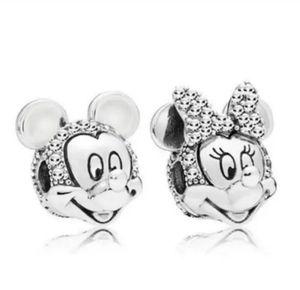 Mickey and Minnie Charm Bead Set for Sale in Wichita, KS