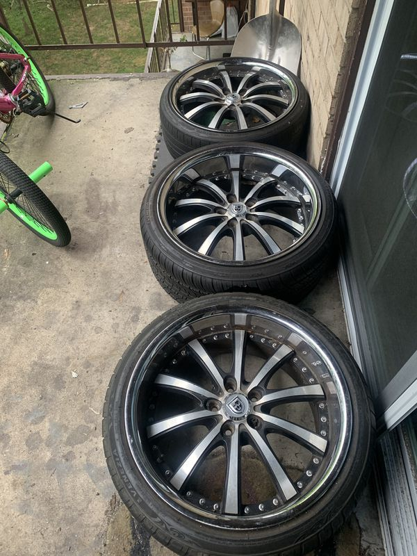 Lexani Wheels 20' 3 Rims only