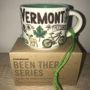 Starbucks Mug Ornament Vermont Been There Series BTO for Sale in Sterling, VA