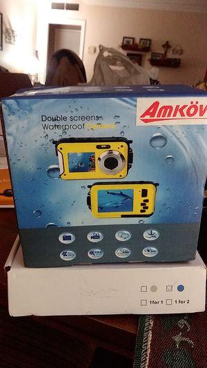 Waterproof Digital Camera 24 MP Underwater Camera Full HD 1080P Video Recorder Camcorder Selfie Dual Screen Shoot Waterproof Camera for Snorkelling for Sale in Bakersfield, CA