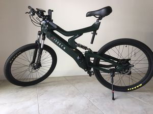 Amazing Electric Bicycle (E-bike) with Unique Carbon Fiber Frame for Sale in Miami, FL