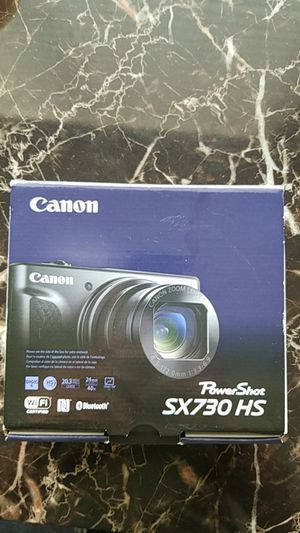 Canon PowerShot SX730 HS with carry case for Sale in Salt Lake City, UT