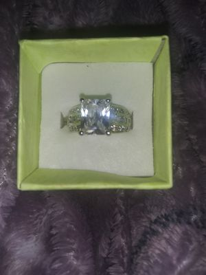 White gold and 1.5 caret engagement ring for Sale in Oklahoma City, OK