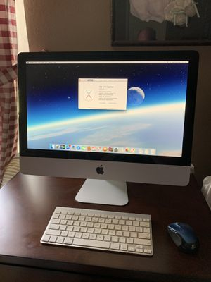 21.5 iMac 3.06 Intel Core Duo 8gig ram ddr3, 256 mb GeForce 9400, 500 gig hardrive , with El Capitan !! for Sale in Menifee, CA