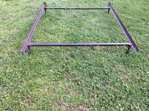 Twin/Full Metal bed fame-$40 firm-No holds for Sale in Portsmouth, VA