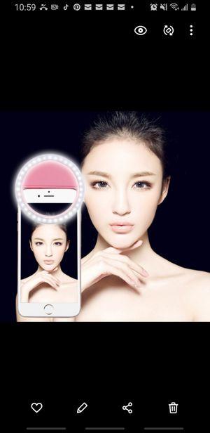 Pink selfie beauty light for Sale in Brooklyn, NY