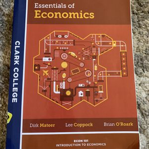 Essentials of Economics Textbook for Sale in Vancouver, WA
