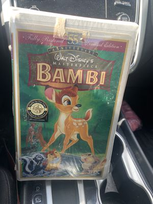sealed limited edition bambi for Sale in Des Plaines, IL
