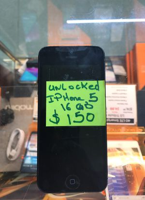 Unlocked iPhone 5 , 16gb for Sale in Cleveland, OH