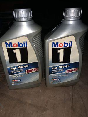 High Mileage Synthetic Motor Oil for Sale in Bradenton, FL