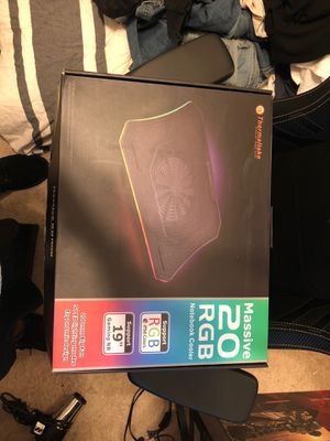 Thermaltake rgb notebook cooler for Sale in Fresno, CA