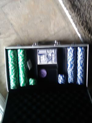 """**Casino Gambling Chips** *""""Colored Blue and Green*** for Sale in Portland, OR"""