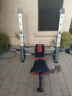 Marcy bench press for Sale in Phoenix, AZ